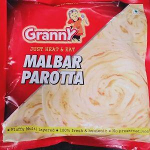 Malabar Parotta