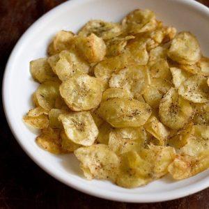 White Banana Chips (Pepper)