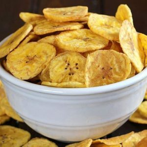 White Banana Chips (Salted)